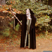 Sorcerer / Wizards Hooded Cloak